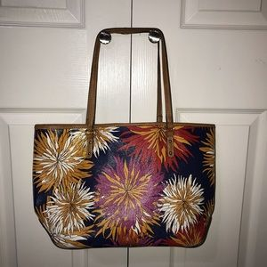 Nine West colorful floral purse